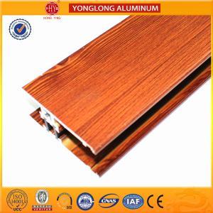 China Insulation Wood Finish Aluminium Profiles For Medical Equipment OEM on sale