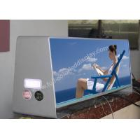 Buy cheap Low Power ConsumtionLED Taxi Sign With 3G / GPS / WIFI SMD Pixel Configuration product