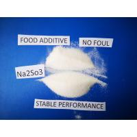 Buy cheap Sodium Sulfite Chemical Formula Na2SO3, Antimicrobic Sodium Sulfite Anhydrous  For Food product
