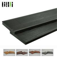 Buy cheap Click Lock Cost Per Square Foot Modern Black Grey Bamboo Solid Wooden Floor For Outdoor Deck product