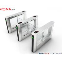 Buy cheap Fast Pass Speed Access Control Turnstile Servo Motor 40 Persons / Min RFID product
