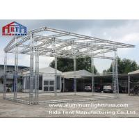 Buy cheap 6082-T6 Silver High Hardness Aluminum Light Truss For Concert / Fashion Show product