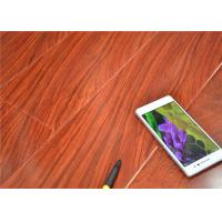 Sound Absorbing Flooring : U bevel pressed red cherry high gloss laminate flooring