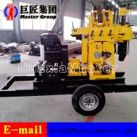 Buy cheap XYX-200 Wheel Type hydraulic press rotary drilling machine water well drilling rig for sale product