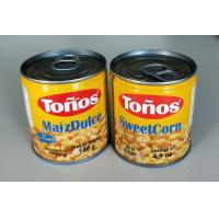 Buy cheap Tonos Brand Sweet Canned Corn Maiz Dulze 185g Lithographic Cans product