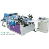 Buy cheap 30 Sets Knives Non Woven Fabric Cutting Machine For Frabic Scrap Cloth product