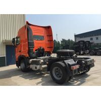 Buy cheap 4X2 Heavy International Truck Tractor , High Safety Head Truck Trailer product