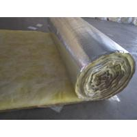 Buy cheap foil faced glass wool insulation blanket product