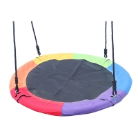Buy cheap Adjustable Ropes 100cm 440lbs Kids Saucer Swing product