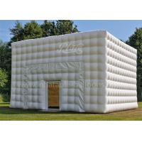 Buy cheap Large Inflatable Event Tent Outdoor Inflatable Cube Tent With Blower from Wholesalers