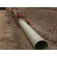Buy cheap Glass Fiber Light Weight Reinforced Plastic Mortar Pipe Underground Pressure Pipe product