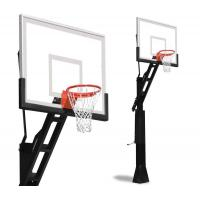 Buy cheap School Basketball Hoop Stand Basketball Adjustable Height Weather Proof Nylon Net Material product