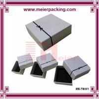 Buy cheap Customized Jewelry paper box for earrings/Ribbon bow square Jewelry Case/ Gift from wholesalers