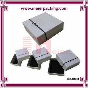 Buy cheap High quality custom A5 paper gift box/Printed custom rigid jewelry paper box ME-TB001 product