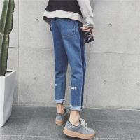 Buy cheap Latest Design Womens Relaxed Tapered Leg Jeans Skinny Customized Pattern product
