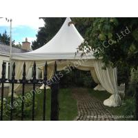 Buy cheap Aluminum Profile High Peak Pole Tent Structure Decorated with Luxury Linings from Wholesalers