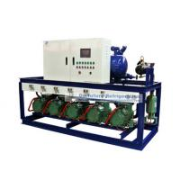 Buy cheap R404a Bitzer piston type refrigeartion compressor unit for 2℃ fruit cold storage product