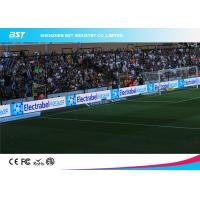 Buy cheap Wall Mounted Soccer DIP Stadium Perimeter Led Display / Baseball Field Advertising product