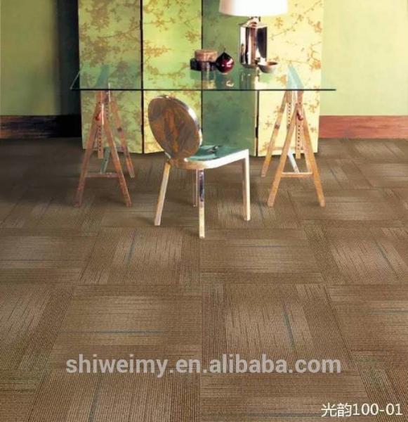 Quality office carpet, Flame retardant carpet, 50*50cm, nylon material carpet for sale