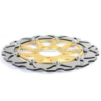 Buy cheap CNC Aluminium 320mm Motorcycle Brake Disc Installation Site Front Wheel product