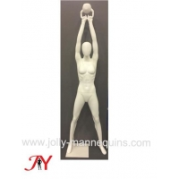 Buy cheap jolly mannequins female training with kettle bell sport mannequin JY201 product