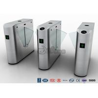Buy cheap Auto Retractable Entrance Waist High Turnstile With Face Recognition / Card Reader product