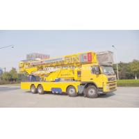 China High Stability 22m Under Bridge Inspection Unit Rental Volvo 8X4 Electrohydraulic Systems on sale