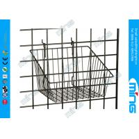"""Buy cheap Small Grid Wall Accessories Retail Store Displaying With 12"""" x 12"""" Basket product"""
