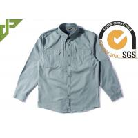Buy cheap Olive Green Tactical Combat Shirt with Hidden Button Down Collar For Men product