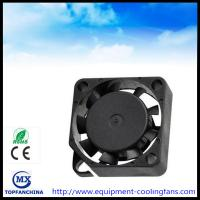 Buy cheap 20x20x10MM Cpu Cooling Fan , Axial 24 Volt Brushless Dc Fan Motor Computer Case Cooling product