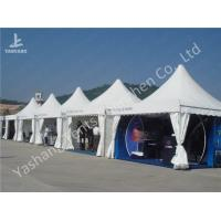 Buy cheap Custom Exhibition High Peak Frame Tent Pagoda Replacement Canopy Pavilion product