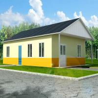 quality corrosion resistance two bedroom modular homes prefab wooden