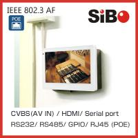 RS232 RS485 GPIO POE Panel PC for HMI