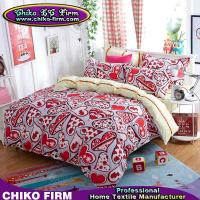 Buy cheap Home Textile Polyester Reactive Printing Heart Bedding Sets product
