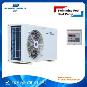 China Mini Size Efficient Swimming Pool Air Source Heat Pump Varmepumpe on sale