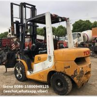 used 3ton tcm forklift FD30T7 originally made in japan in 2010 low working hrs for sale