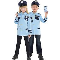 Buy cheap Police Uniform Teen Boy Halloween Costumes Traffic Cop Cosplay product