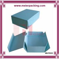 Buy cheap High Quality Blue Chipboard Flip Top Boxes with Magnetic Catch ME-FD003 product