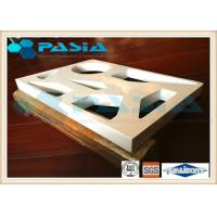Buy cheap Various Shapes Aluminium Honeycomb Ceiling Panels PVDF Fluorocarbon Powder Coated product