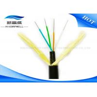 Buy cheap 12 Core 24 Core Glass Fiber Optic Cable Hybrid Adss Aerial SM MM Under 110kv product