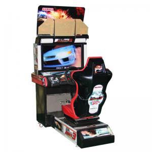 China Coin Operated Racing Arcade Machine Racing Game Simulator Machines on sale