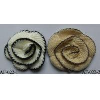 China Artificial Flower, Flower Brooches, Crochedtd Flower Clothing Accessory on sale