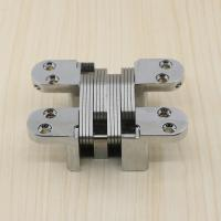 Buy cheap SOSS Type Concealed Hinge Invisible 180 Degree Concealed Hinges For Wooden Doors 90kg/Pair product