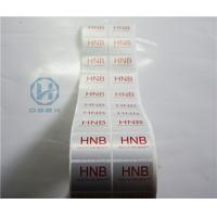 China Anti Proof Stop VOID Tamper Evident Security Labels Hot Stamping Stickers on sale
