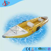 Buy cheap Kayak Inflatable Fly Fishing Boats / outside hand paddle boat CE / UL product