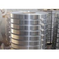 Buy cheap Silver 0.009-0.05m Thin Aluminum Strips H14 / H16 Pharma / Confectioneries Use product