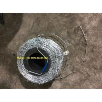 """Buy cheap 16gaX16ga,Galvanized Barbed Wire, 500 meters /roll , 5"""" space ,22.5kg/roll product"""