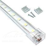 Buy cheap 13W 44 LEDs 17-20lm/LED DC12V 1000mm*12mm T4 LED Tube product