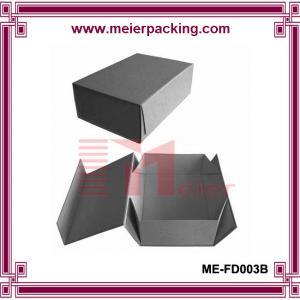 Professional OEM custom grey folding paper box for Men's Leather Shoes