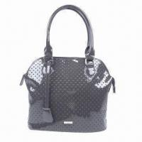 Buy cheap Heart-shaped Laser Punch-hole Synthetic Leather Bag with Individual Decoration product